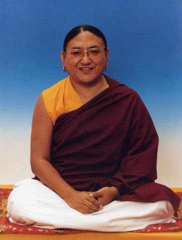 His Holiness the Sakya Trichen
